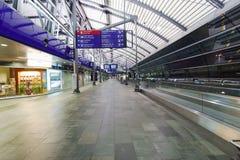 Intérieur d'aéroport Image libre de droits