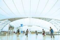 Intérieur d'aéroport de Bangkok Photos libres de droits