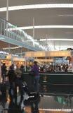 Intérieur d'aéroport de Barcelone. Espagne Image stock