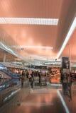 Intérieur d'aéroport de Barcelone, Espagne Images libres de droits