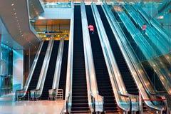 Intérieur d'aéroport de Changi, Singapour Images stock