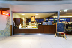 Intérieur d'aéroport de Cologne Bonn Image libre de droits