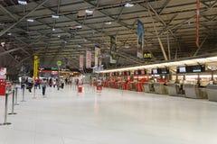 Intérieur d'aéroport de Cologne Bonn Photographie stock