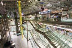 Intérieur d'aéroport de Cologne Bonn Images stock