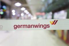 Intérieur d'aéroport de Cologne Bonn Photo libre de droits