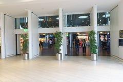 Intérieur d'aéroport de Copenhague Image libre de droits
