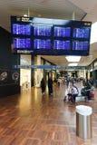 Intérieur d'aéroport de Copenhague Photos stock