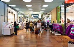 Intérieur d'aéroport de Copenhague Images libres de droits