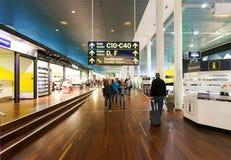 Intérieur d'aéroport de Copenhague Images stock