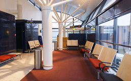 Intérieur d'aéroport de Copenhague Image stock