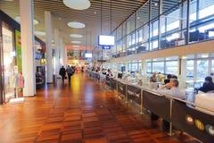 Intérieur d'aéroport de Copenhague Photos libres de droits