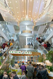 Intérieur d'aéroport de Domodedovo Photographie stock