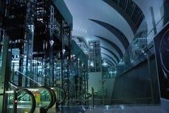 Intérieur d'aéroport de Dubaï Image libre de droits