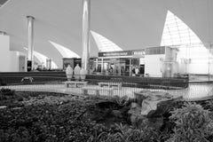Intérieur d'aéroport de Dubai International Image stock