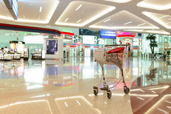 Intérieur d'aéroport de Dubai International Images stock