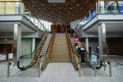 Intérieur d'aéroport de Helsinki Photos stock