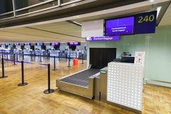 Intérieur d'aéroport de Helsinki Photographie stock