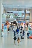 Intérieur d'aéroport de Hongqiao, Changhaï, Chine Photographie stock