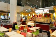 Intérieur d'aéroport de Kuala Lumpur Image libre de droits