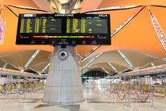 Intérieur d'aéroport de Kuala Lumpur Photos libres de droits