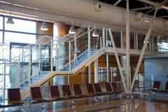 Intérieur d'aéroport de Madrid Photo stock
