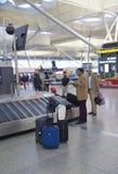 Intérieur d'aéroport de Madrid Photographie stock libre de droits