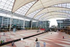 Intérieur d'aéroport de Munich Images stock