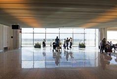 Intérieur d'aéroport de Palma Image stock