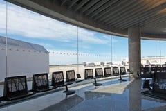 Intérieur d'aéroport de Palma Images libres de droits