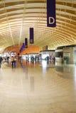Intérieur d'aéroport de Pudong Image libre de droits