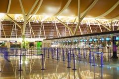 Intérieur d'aéroport de Pudong Photographie stock libre de droits