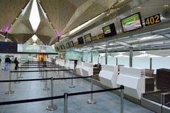 Intérieur d'aéroport de Pulkovo Images libres de droits