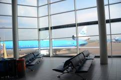 Intérieur d'aéroport de Schiphol Image libre de droits