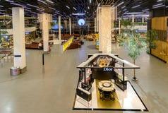 Intérieur d'aéroport de Schiphol Amsterdam, Hollandes Photos libres de droits