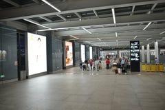 Intérieur d'aéroport de Shenzhen Image stock