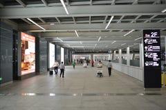 Intérieur d'aéroport de Shenzhen Photo libre de droits
