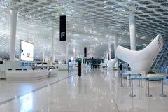 Intérieur d'aéroport de Shenzhen Image libre de droits