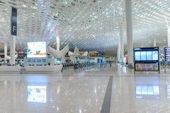 Intérieur d'aéroport de Shenzhen Photographie stock