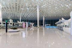 Intérieur d'aéroport de Shenzhen Photos stock