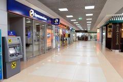 Intérieur d'aéroport de Sheremetyevo Photographie stock