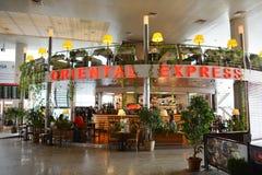Intérieur d'aéroport de Sheremetyevo Image stock