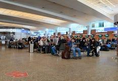 Intérieur d'aéroport de Sheremetyevo Photo libre de droits