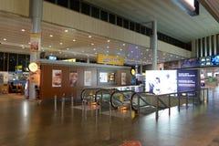Intérieur d'aéroport de Sheremetyevo Image libre de droits