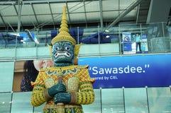 Intérieur d'aéroport de Suvarnabhumi Photos stock