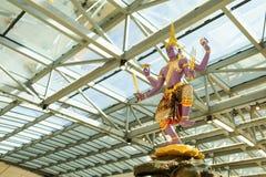 Intérieur d'aéroport de Suvarnabhumi Photo libre de droits
