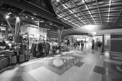 Intérieur d'aéroport de Suvarnabhumi Images stock