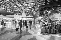 Intérieur d'aéroport de Suvarnabhumi Photographie stock