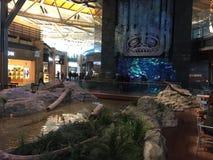 Intérieur d'aéroport de Vancouver dans le Canada Photos stock