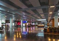 Intérieur d'aéroport de Zurich Photos libres de droits