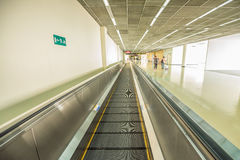 Intérieur d'aéroport international Photo libre de droits